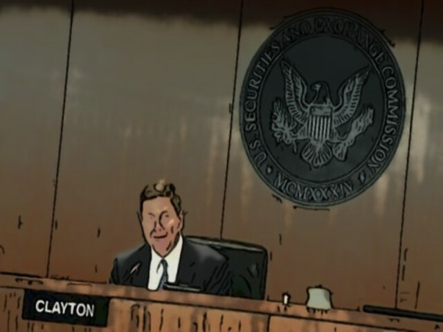 SEC CEO Jay Clayton agreed that Ethereum is no longer a security