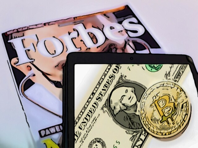 Forbes equated bitcoin to money