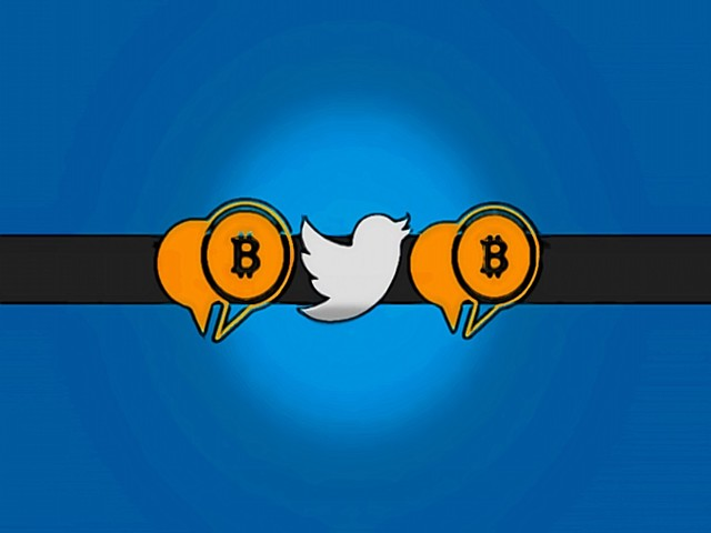 Twitter users can transfer bitcoins to each other